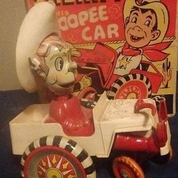 Marx Sheriff Sam Windup Toy