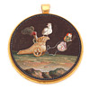 Micromosaic Chariot Pulled by Butterflies, circa 1800