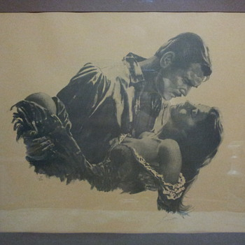 Gone With The Wind signed art. - Posters and Prints
