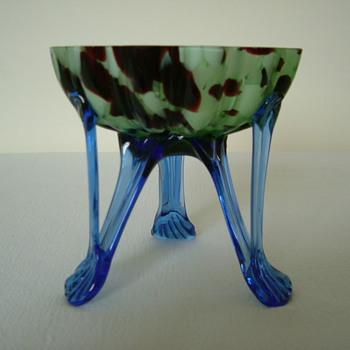 Czech Art Deco Welz Bowl - Art Glass