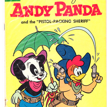 Walter Lantz Andy Panda &M.G.M.s Mouse Musketeers. - Comic Books
