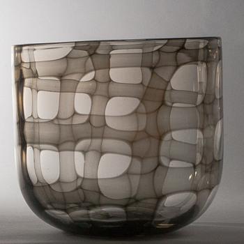 skeleton vase - Art Glass