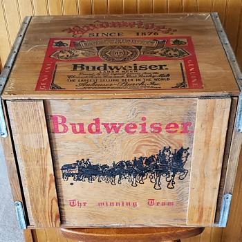 Budweiser Wooden Crate - Breweriana