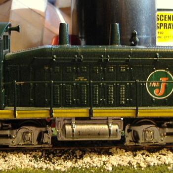 EJ&E #307 SW9 HO scale - Model Trains