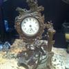 metal clock
