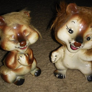 Two Lions  - Animals