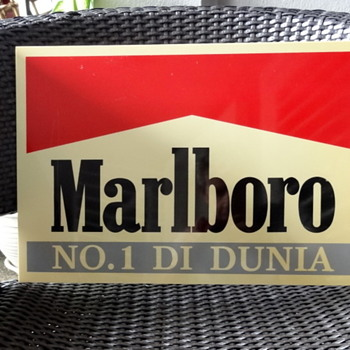 One more Marlboro sign - from Indonesia - Signs