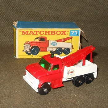 Mighty Matchbox Monday Ford Heavy Wreck Truck MB 71 1968-1969 - Model Cars