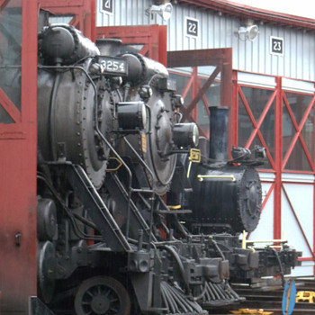 Steam Engines at Steamtown NHS - Railroadiana