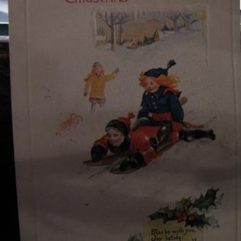Christmas, 1925 Postcard