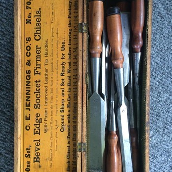 Dad's Chisels - Tools and Hardware