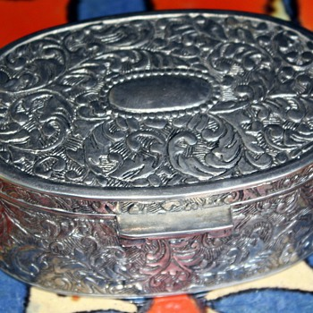 Silver Box and Sterling Silverware - Silver