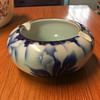 Fukagawa porcelain ashtray