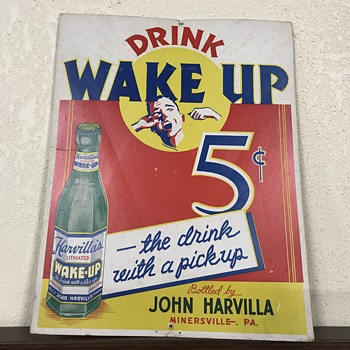 Drink wake up 5 cents  - Advertising
