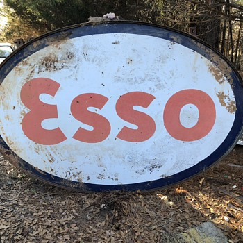 ESSO oil sign - Signs