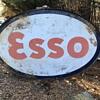 ESSO oil sign