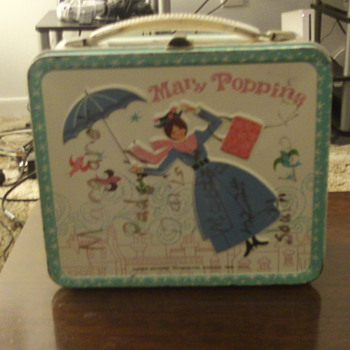 1964 Aladdin Mary Poppins Lunchbox - Kitchen