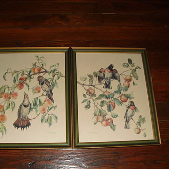 Two signed Cecil Golding pictures - Fine Art