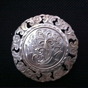 Argentinian handmade vintage brooch - Fine Jewelry