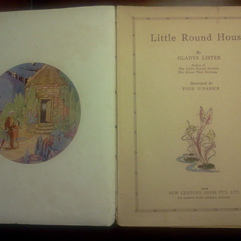 1949 Little Round House - Books
