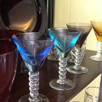 Shot Glasses Handblown Glass - Art Glass