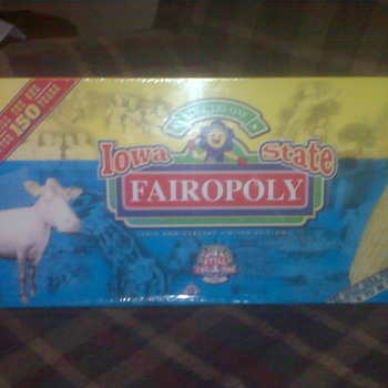 "Iowa State Fair 150th Anniversary ""Fairopoly"" Board Game - Games"