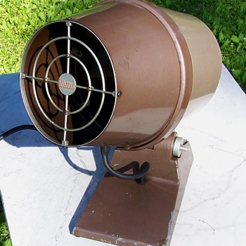 Mid Century Atomic Age Design Wittie Oscillating Fan  - Tools and Hardware