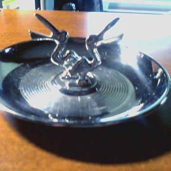 """Hamilton Products Art Deco Style """" Pelican  """" Ashtray / Circa 1940's - 1950's - Tobacciana"""