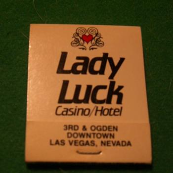 Vintage Lady Luck Casino ~ Las Vegas, Nevada (Fremont Street)