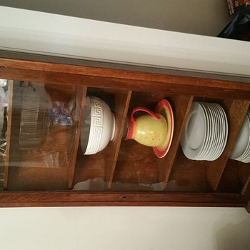 Grandmother's Curio Cabinet