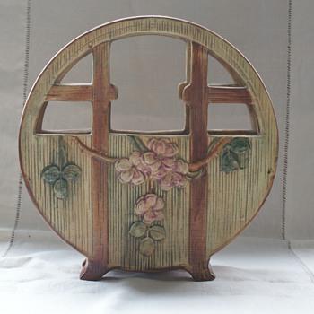 Weller Basket - Pottery