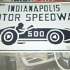 Indy 500 Souvenir License Plate help