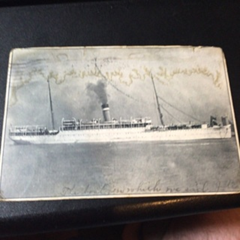 1908 Ship Leaves Hawaii for the Mainland. What Possible Ship Might It Be? - Photographs