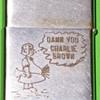 Zippo Lighter ~ Charlie Brown'