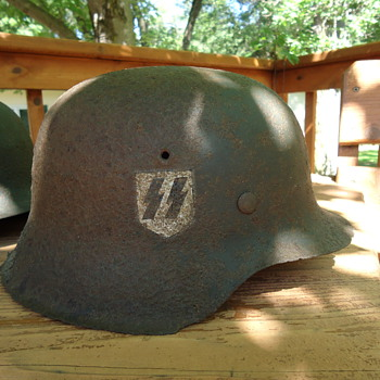WWII M42 German Helmet