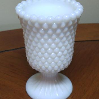 Unknown milk glass - Glassware