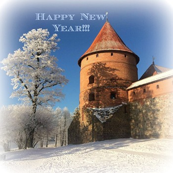 New Year's Greetings! - Postcards