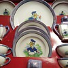 1930's Donald Duck Children's Tea Set