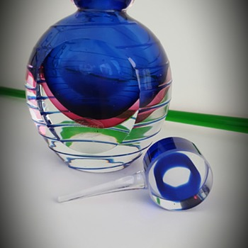 Murano Perfume Bottle - Art Glass