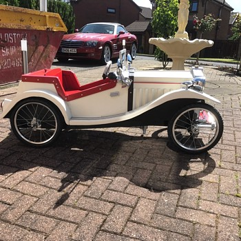Mg tc number four just finished - Toys
