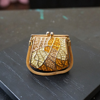 Purse Trinket Box - Costume Jewelry