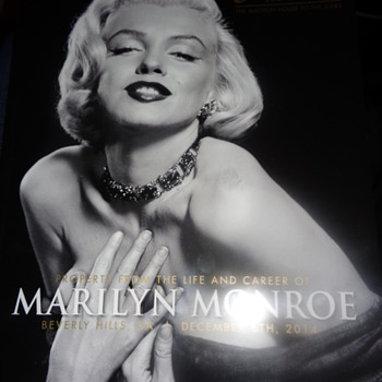 Property from the life and career of Marilyn Monroe