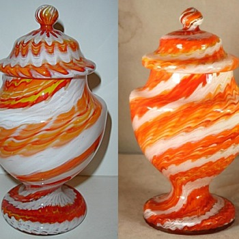 Czech glass - #7 Meissen type - Art Glass