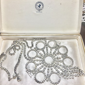 Vintage huge necklace - Costume Jewelry