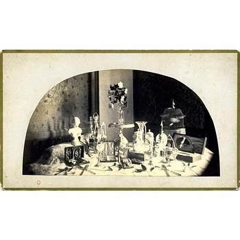 Blair Tourograph Camera Advertising Card with Original Photograph; 1880. - Cameras