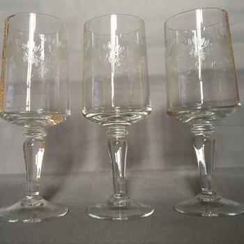Antique glasses  - Glassware