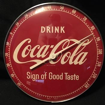 1957 Coca-Cola Thermometer - Coca-Cola