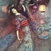 1970s  Signed Warwick Goble Print The Peony Lantern Thrift Shop Find 3,50 Euro ($3.72)