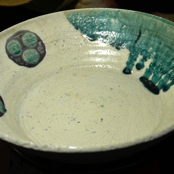 Largest of the amazing bowls from Goodwill - Pottery