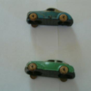 old minature cars made U.S.A. - Model Cars